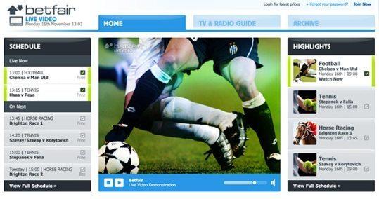 Гледай безплатно футбол онлайн в Betfair