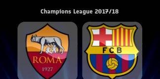 Рома с/у Барселона Шампионска лига 1/4 финал 10-ти април
