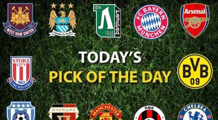 Футболни прогнози избор на деня