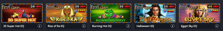 winbet Egypt Quest игри